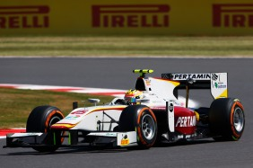 2015 GP2 Series Round 5. Silverstone, Northamptonshire, England. Friday 3 July 2015. Rio Haryanto (INA, Campos Racing). Photo: Zak Mauger/GP2 Series Media Service. ref: Digital Image _L0U1950